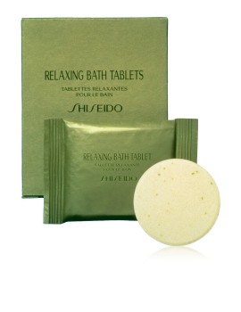 Relaxing Bath Tablets Dischetti Effervescenti Bagno Shiseido