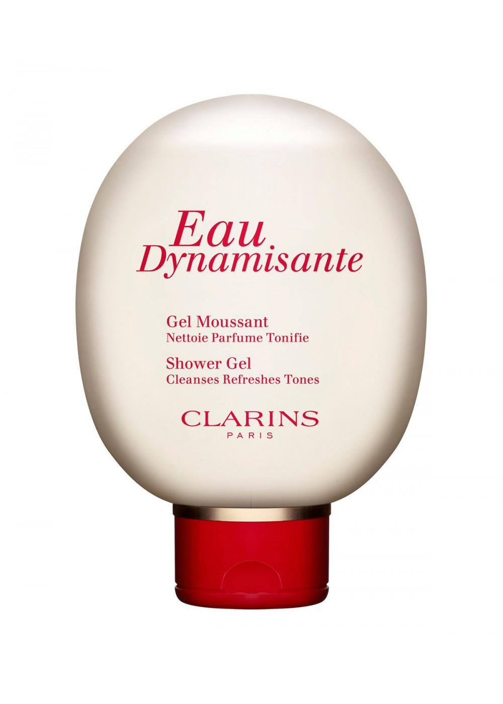 Gel douche eau dynamisante gel doccia clarins - Clarins eau dynamisante mousse douche ...