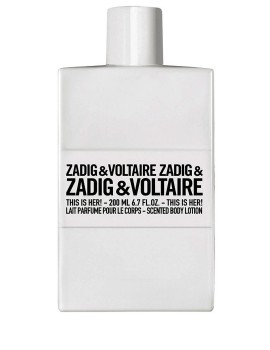 This is Her Body Lotion Latte Corpo Zadig & Voltaire