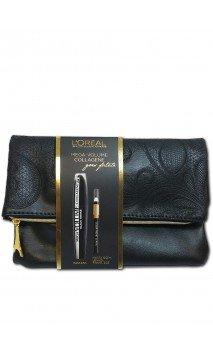 Pochette Mascara Mega Volume Collagene Cofanetto Make-up L'Oréal Paris