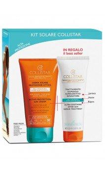 Kit Crema Solare Protezione Attiva Viso-Corpo SPF30 Collistar