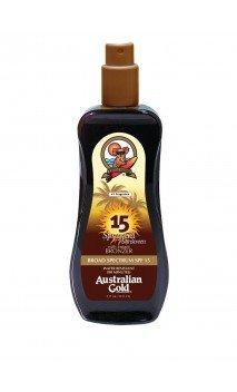 Spray Gel with Instant Bronzer SPF15 Protezione Solare Australian Gold