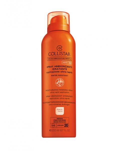 Spray Abbronzante Idratante applicazione ultra-rapida SPF 20 Collistar