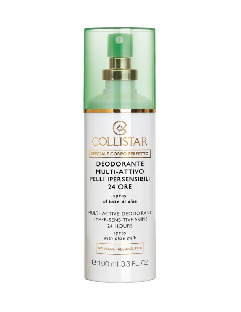 Deodorante Multi-Attivo® Pelli Ipersensibili 24 Ore Spray al Latte di Aloe Collistar