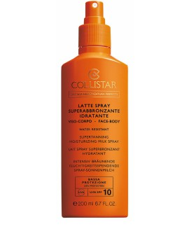 Latte Spray Superabbronzante Idratante SPF 10 Latte Solare Collistar