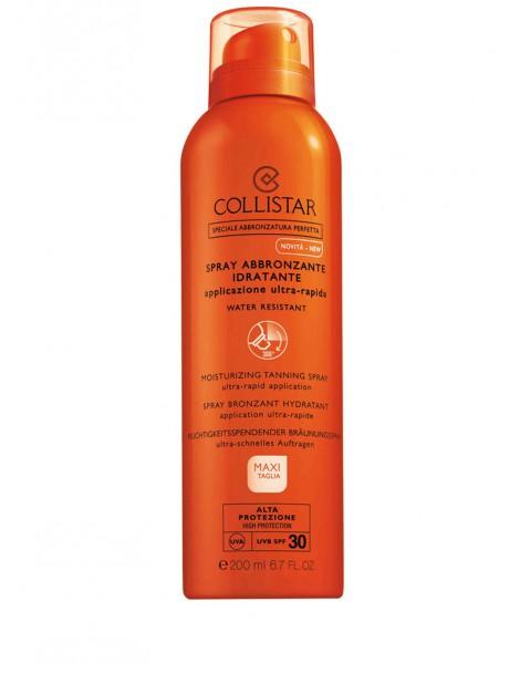Spray Abbronzante Idratante Applicazione Ultra-Rapida SPF 30 Spray Solare Collistar