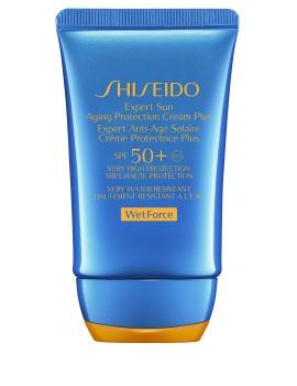 Expert Sun Aging Protection Cream SPF50 WETFORCE Crema Viso Solare Shiseido