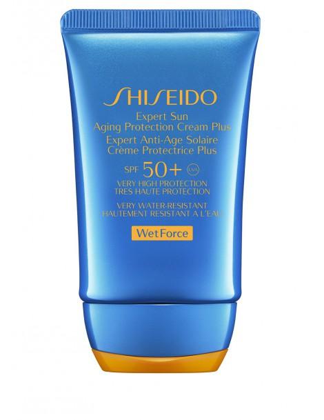 Expert Sun Aging Protection Cream SPF50 WETFORCE Crema Solare Shiseido
