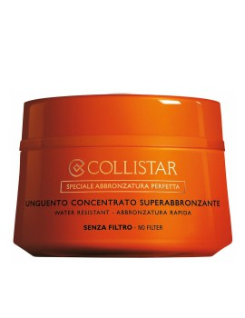 Unguento Concentrato Superabbronzante Crema Solare Collistar