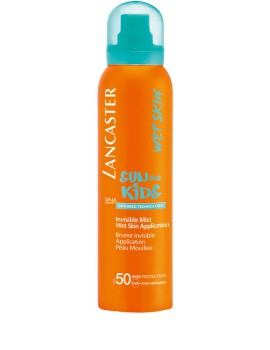 Sun for Kids Invisible Mist Wet Skin SPF 50 Spray Solare Lancaster