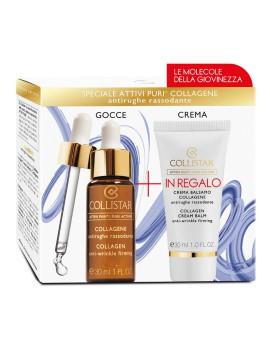 Kit Attivi Puri Collagene + Crema Balsamo Cofanetto Trattamento Viso Collistar