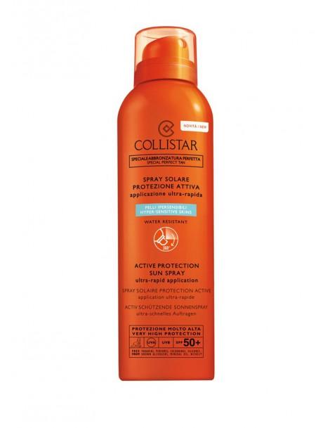 Spray Solare Protezione Attiva SPF50+ Lozione Solare Colllistar