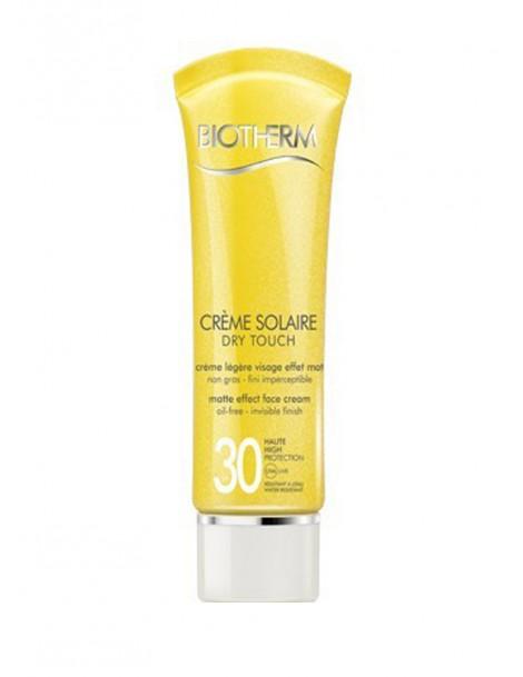 Crème Solaire Dry Touch Spf 30 Crema Solare Viso Biotherm