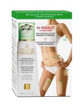 Kit Concentrato Biorivitalizzante Anti-cellulite Cofanetto Trattamento Corpo Collistar