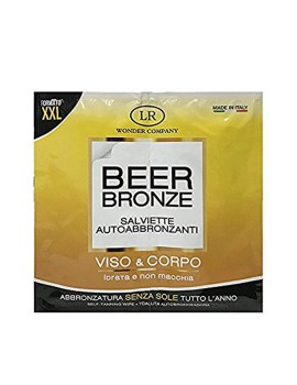 Hollywood Beer Bronze Salviettine Autoabbronzanti LR Wonder Company