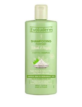 Shampoo Purificante Capelli Argilla Bianca Evoluderm