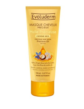 Hair Mask Huile Precieuse Maschera Capelli Nutriente Evoluderm