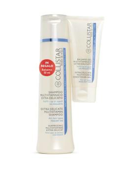 Kit Shampoo-Gel Purificante Equilibrante Shampoo Capelli Collistar
