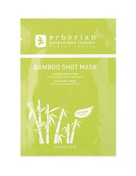 Bamboo Shot Mask Maschera Viso Tessuto Erborian
