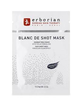 Blanc Shot Mask Maschera Viso Tessuto Erborian