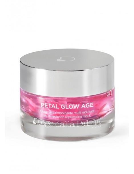 Petal Glow Age-Maschera Rimpolpante Viso Multi Radiosità Diego Dalla Palma