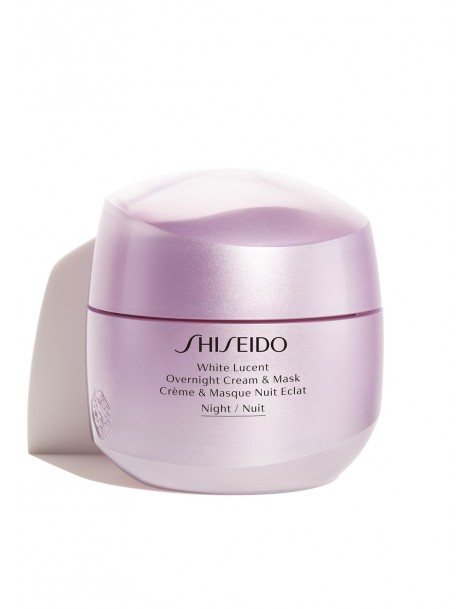 White Lucent Overnight Cream & Mask Crema Viso Shiseido