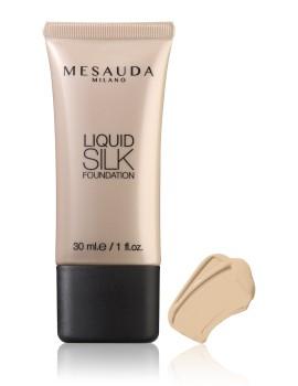 Liquid Silk Foundation Fondotinta Fluido Opacizzante Mesauda Milano