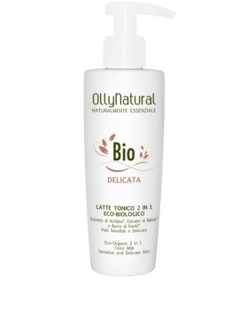 BIO DELICATA Latte Tonico 2 in 1 200 ml pelli sensibili