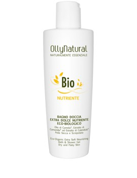 BIO CORPO Bagno Doccia Extra Dolce Nutriente Eco-Biologico Olly Natural