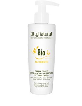 BIO CORPO Crema Corpo Extra Dolce Nutriente Eco-Biologica Olly Natural