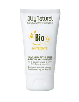 BIO CORPO Crema Mani Extra Dolce Nutriente Eco-Biologica Olly Natural