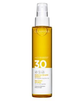 Olio Solare Spray Corpo UVA/UVB SPF 30 Clarins