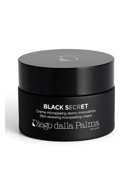 Black Secret Crema Micro Peeling dermo rinnovatrice Viso Diego Dalla Palma
