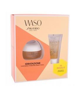 WASO Set Clear Mega-Hydrating Cream Crema Viso Shiseido