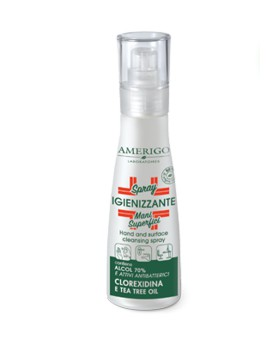 Spray Igienizzante Mani e Superfici AMERIGO LABORATOIRES