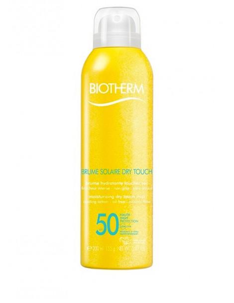 Brume Solaire Dry Touch SPF 50 Protezione Solare SPRAY Corpo Biotherm