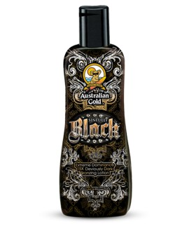 Sinfully Black Bronzing Lotion Intensificatore Abbronzatura Australian Gold