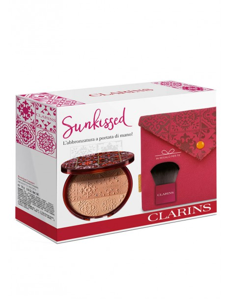 Summer Look 2018 Poudre Soleil Cofanetto Make-Up Clarins