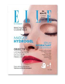 Masque Hydrogel Anti-Age Maschera Viso Tessuto ELLE by Collagena