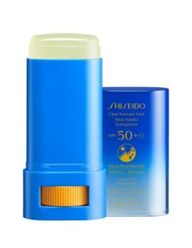Clear Suncare Stick SPF50+ Protezione Solare Trasparente Shiseido